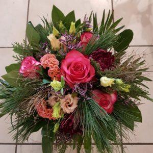 Bouquet rond «Pastel»